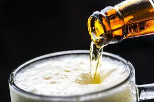 schiuma della birra