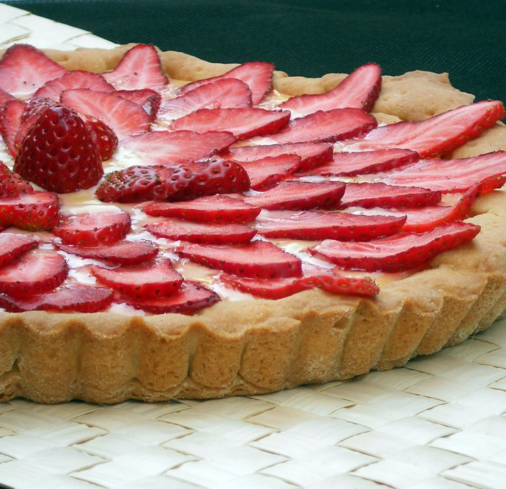 crostata lemon curd e fragole ok