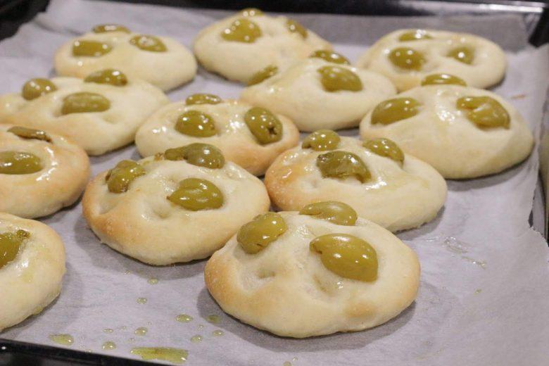 focaccine morbide alel olive