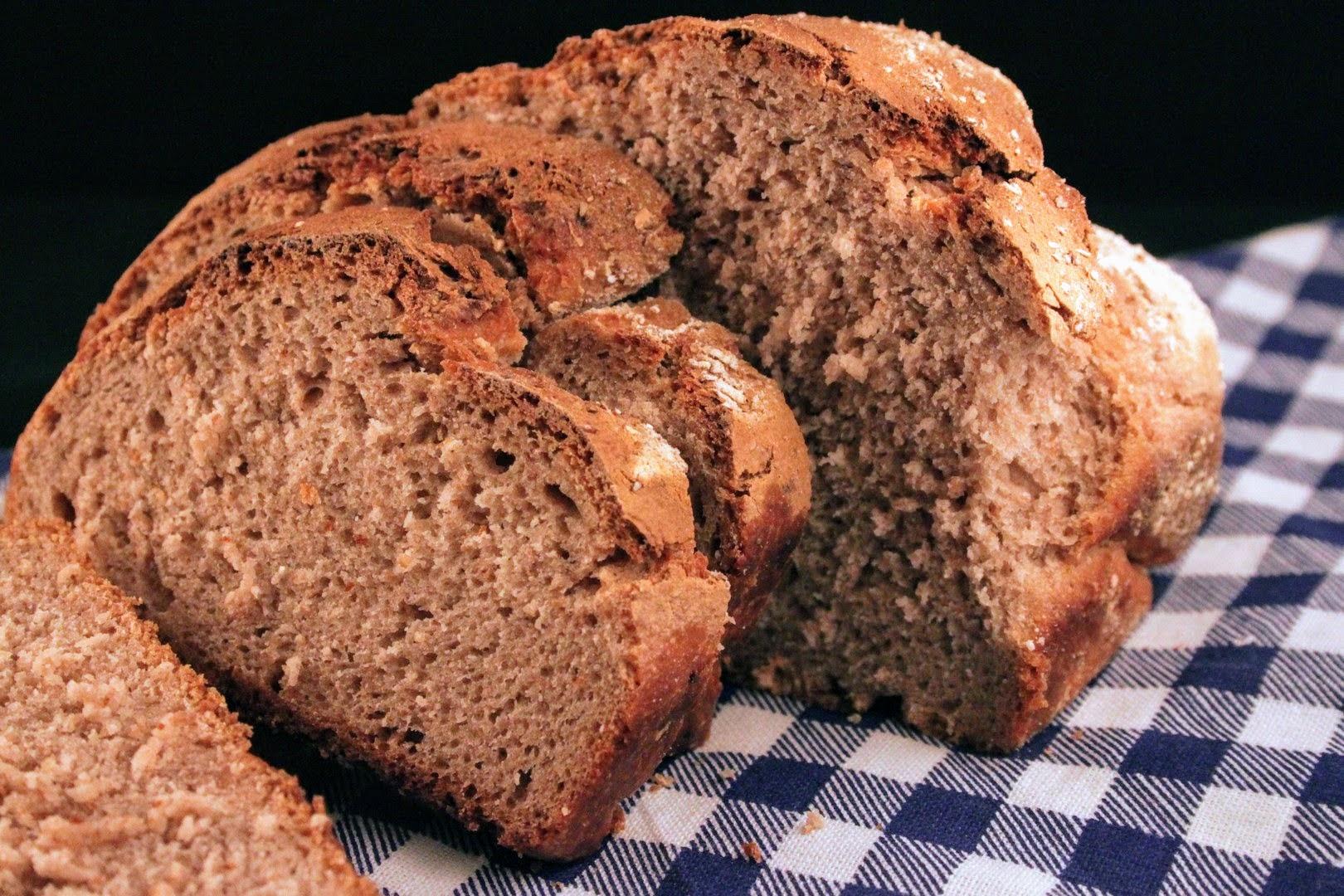 ricetta pane farina di castagne