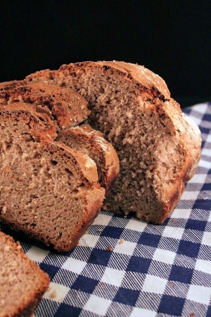 ricetta del pane di castagne