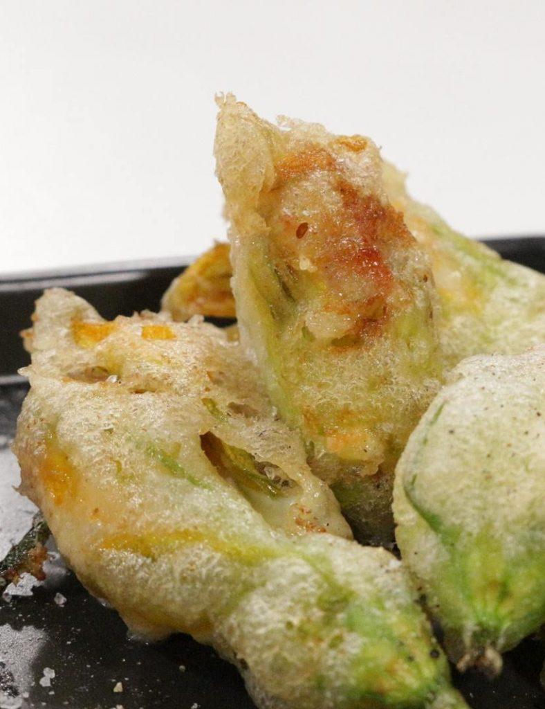 ricetta fiori di zucca fritti