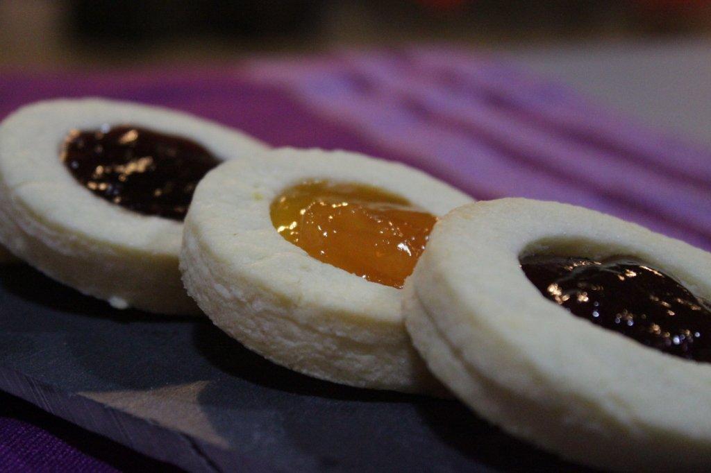 RICETTA biscotti OCCHI DI BUE