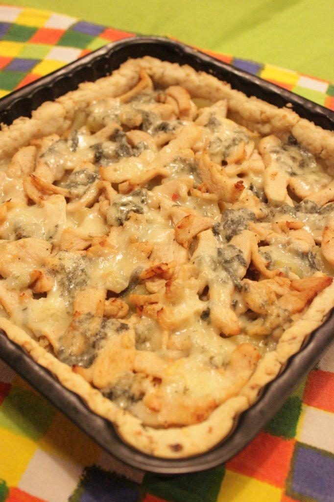 pie di pollo e gorgonzola (7)