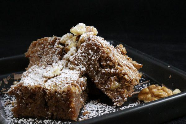 ricetta dei brownies alle noci