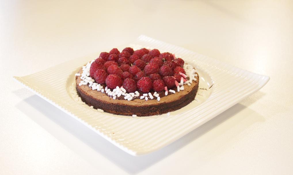 Torta sublime al cioccolato senza lievito