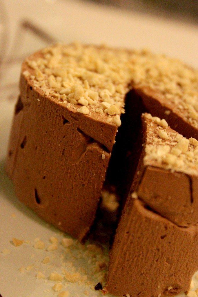 semifreddo al cioccolato e anacardi