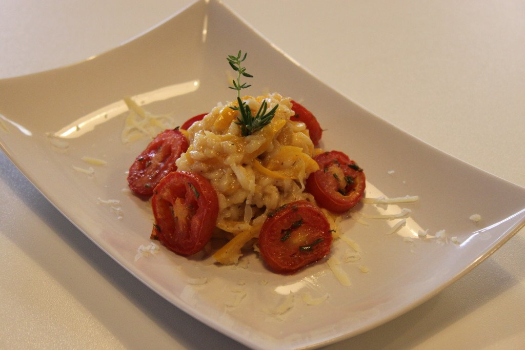 risotto alla paprica e peperoni