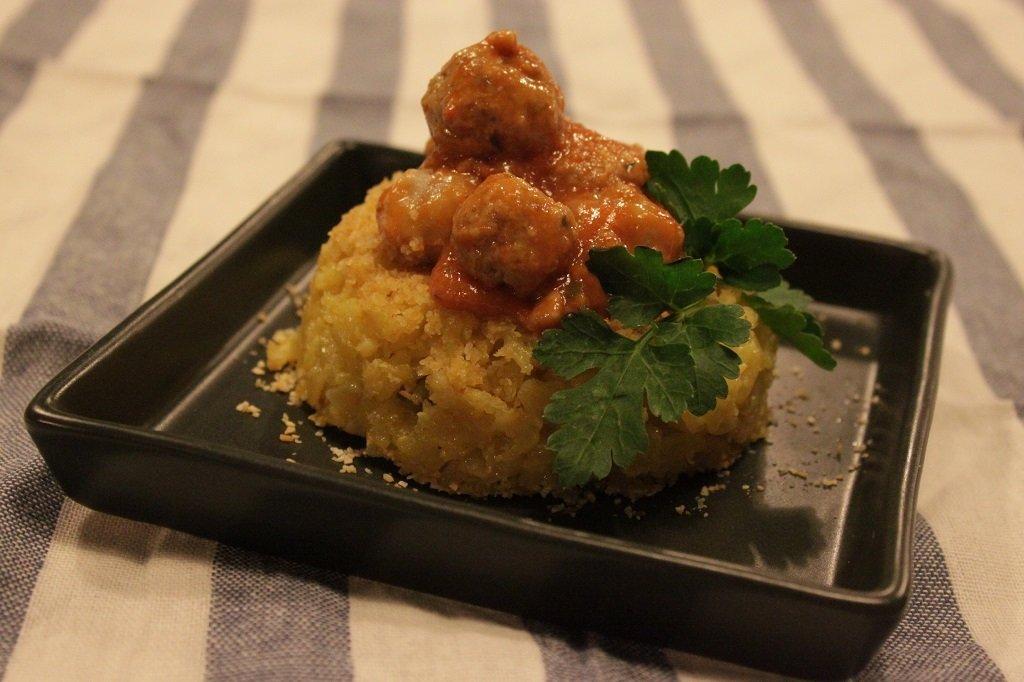 scuola di cucina mini sartù di riso