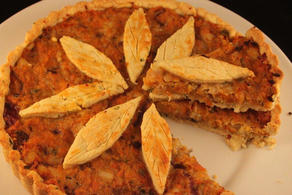 tortino di baccalà, carote e farina di mandorle 2