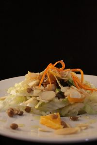 Insalata lenticchie e arancia 5