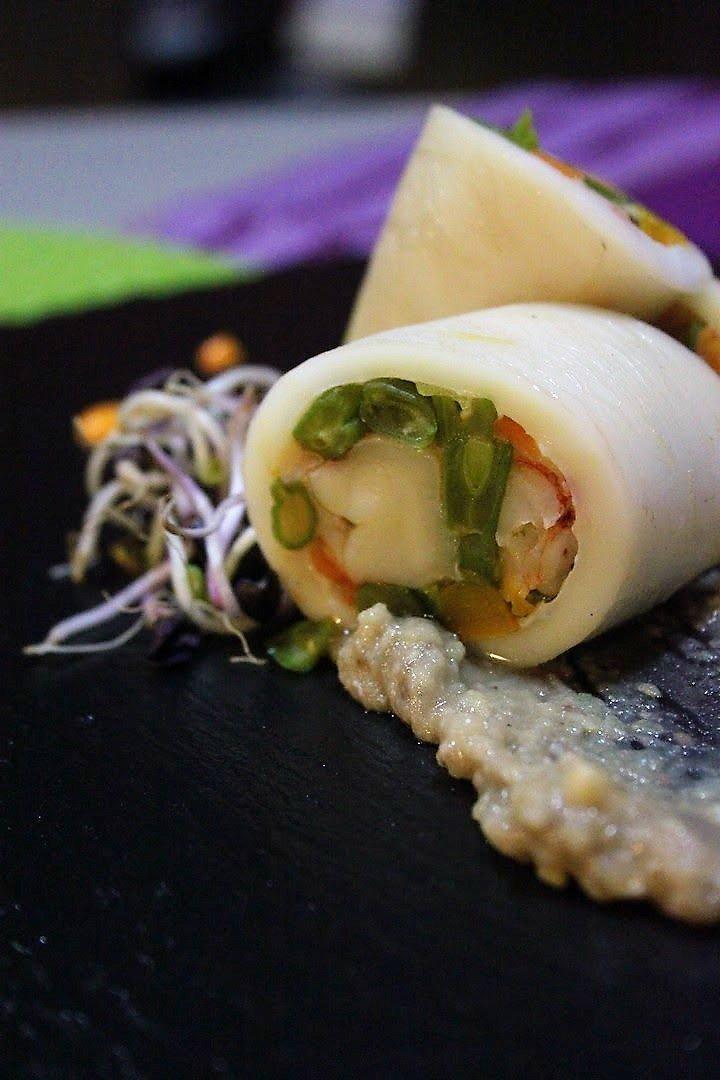 Calamaro ripieno di verdure