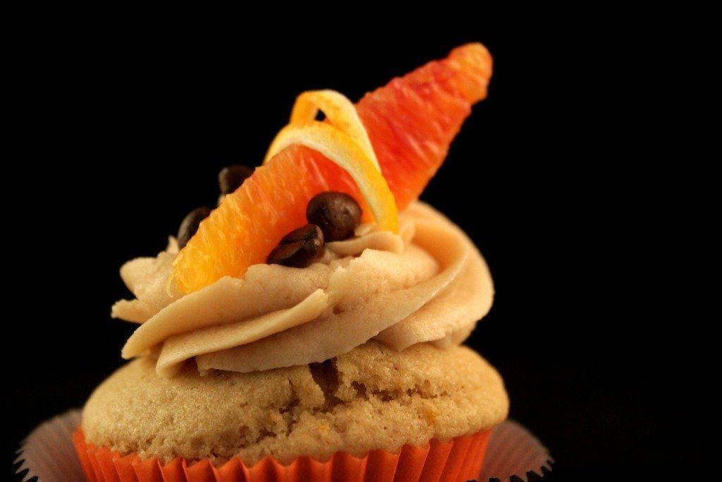 Muffin al caffè e arancia