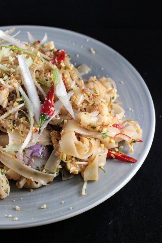 Pad Thai – vermicelli di riso con gamberi e verdure