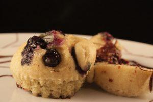 muffin senza glutine mirtilli e cioccolato al vapore (4)