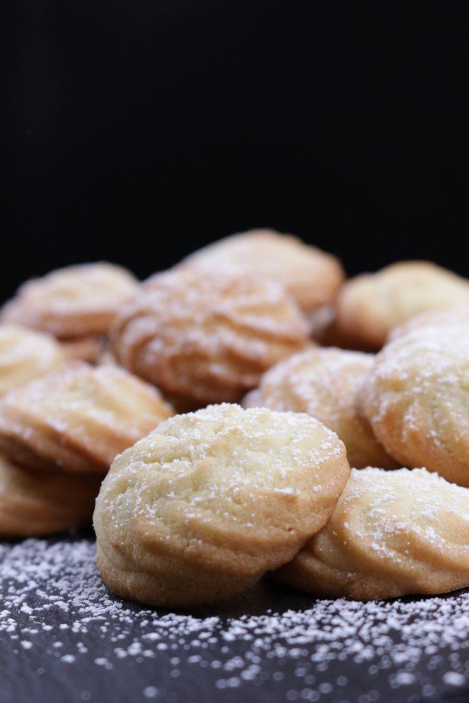 Ricetta dei biscottini di frolla montata