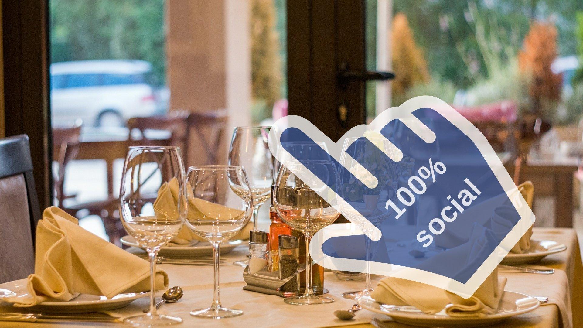 le immagini del tuo ristorate sui social
