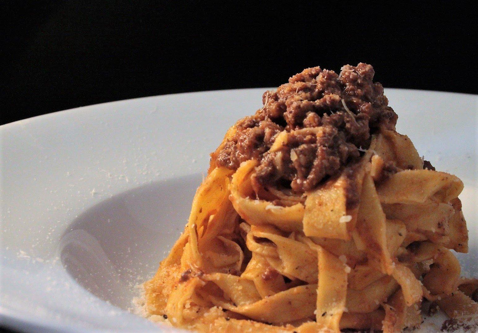 Il ragù bolognese tradizionale dello Chef